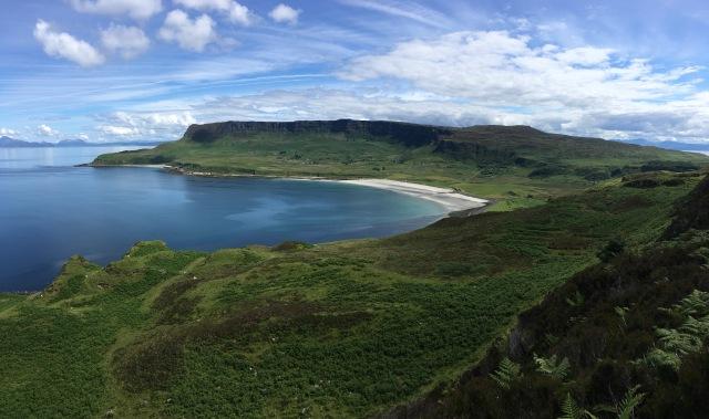 Western Bays panorama & Beinn Bhuidhe.